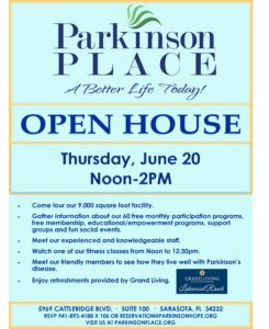 Open House @ Parkinson Place