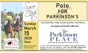 Polo For Parkinson's @ Sarasota Polo Grounds