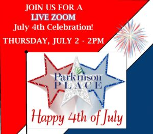 Live Zoom 4th of July Celebration!