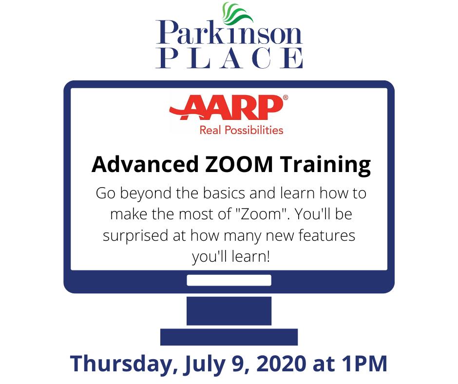 Zoom Training Flyer