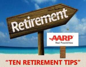 """Ten Retirement Tips"" Webinar with AARP"