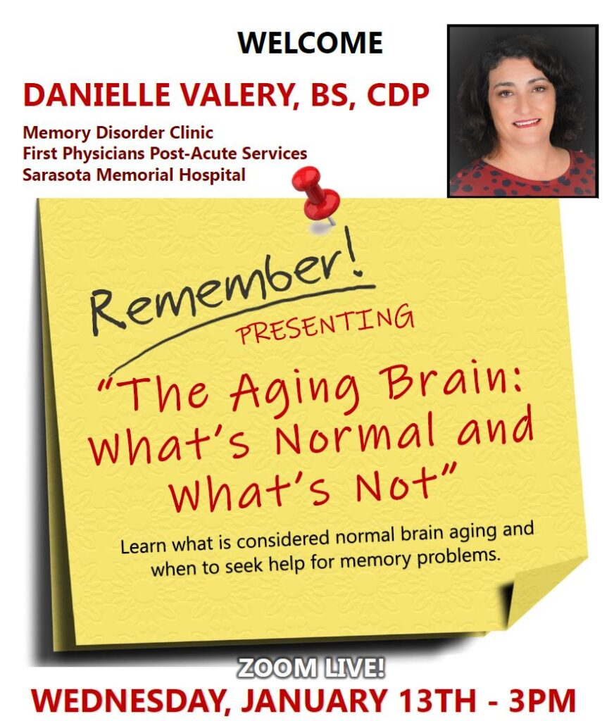 The Aging Brain Webinar