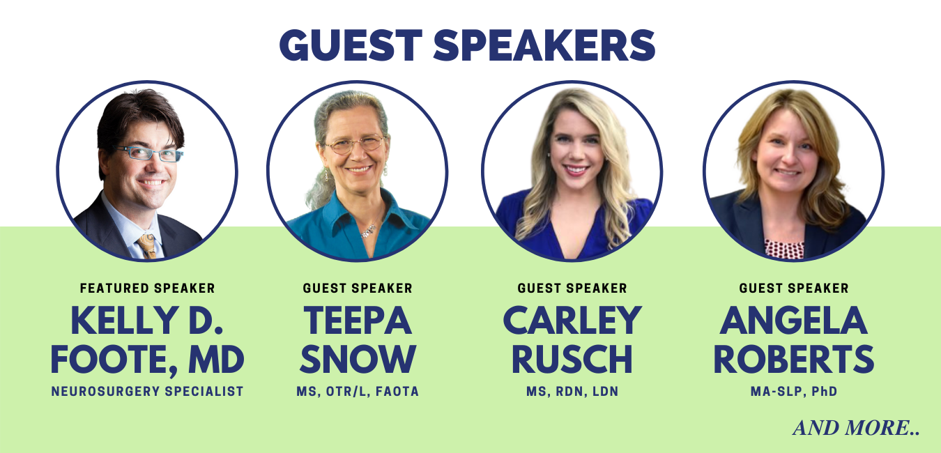 Guest Speakers for Parkinson Place Summit