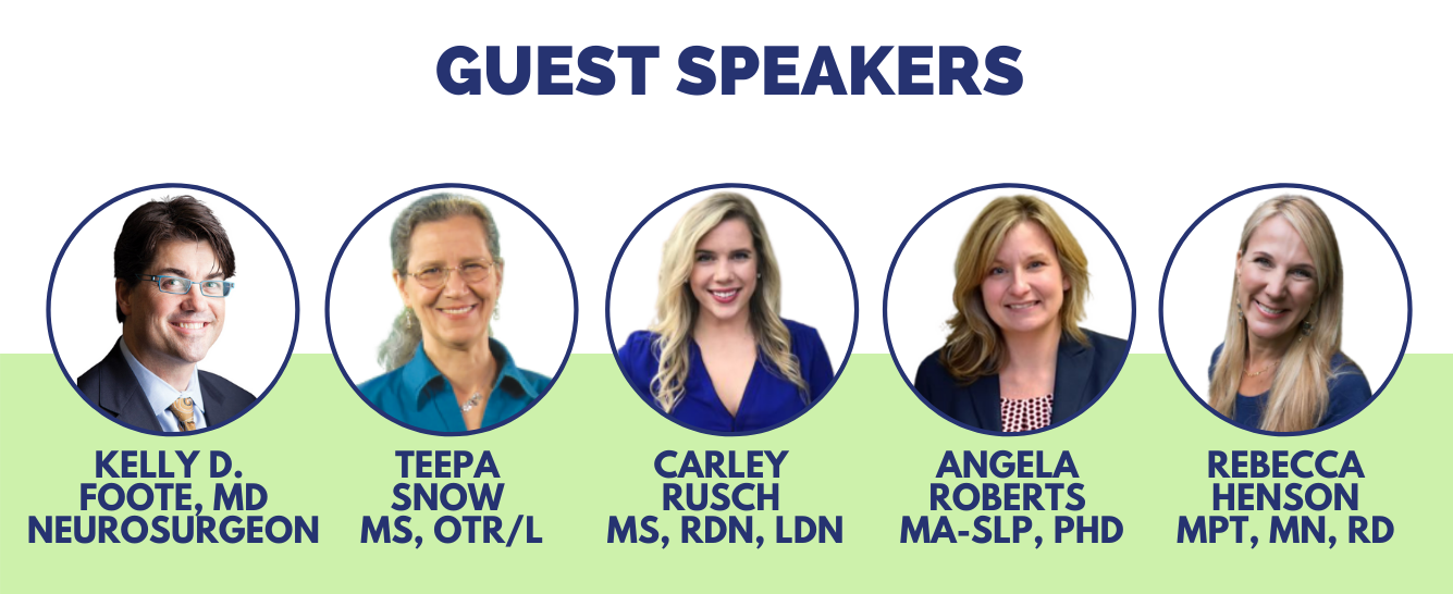 Speakers for the Summit